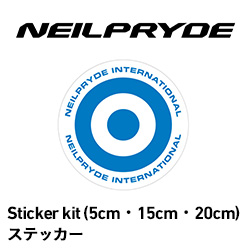 Sticker kit(5cm・15cm・20cm)ステッカー